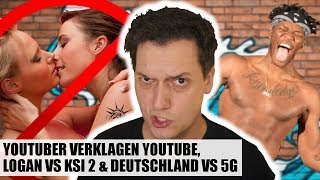 YouTuber verklagen YouTube, stinkreiche Politiker & macht 5G alle krank? | #LeNews
