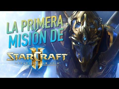 La primera misión de StarCraft II: Legacy of the Void