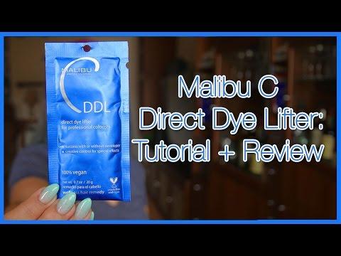 Malibu C Direct Dye Lifter: Tutorial + Review | ChromaCrowns