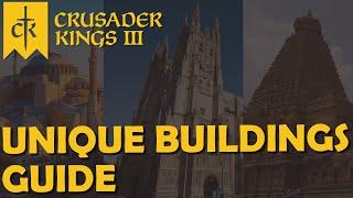 Crusader Kings 3 – Guide – Unique Buildings Guide