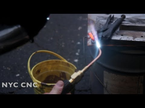 Heat Treat W1 Tool Steel without an Oven: Making a Hardened Bolt