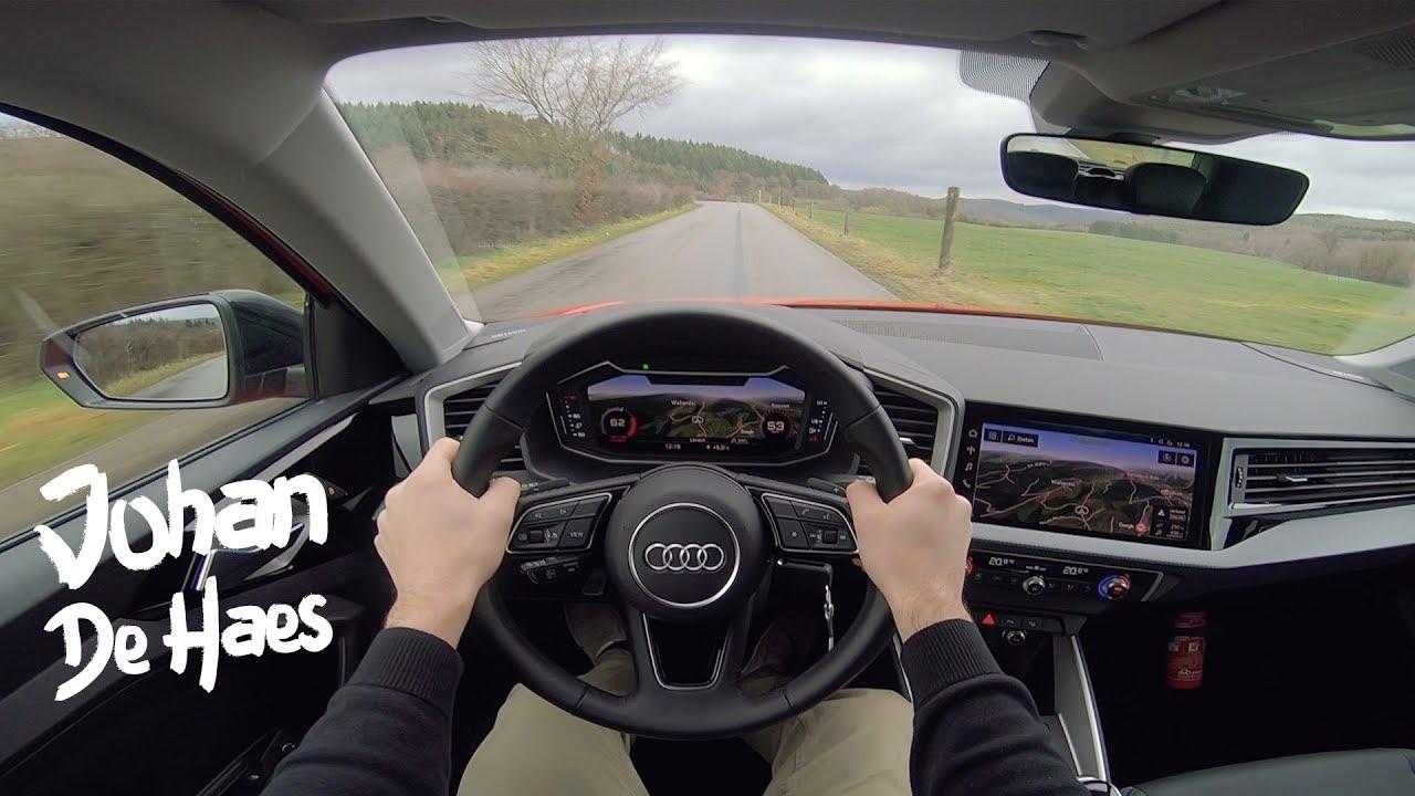 Audi A1 30 Tfsi S Line 116 Hp Pov Test Drive Youtube