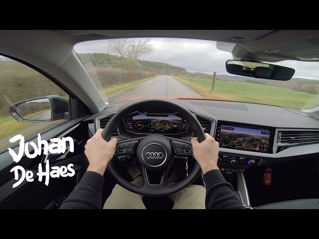 Audi A1 30 TFSI S Line 116 hp POV test drive