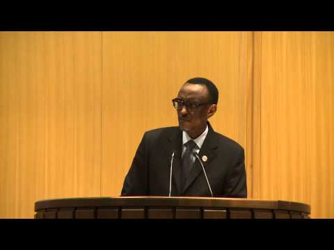 President Kagame at the African Union-Economic Commission for Africa Conference of Ministers