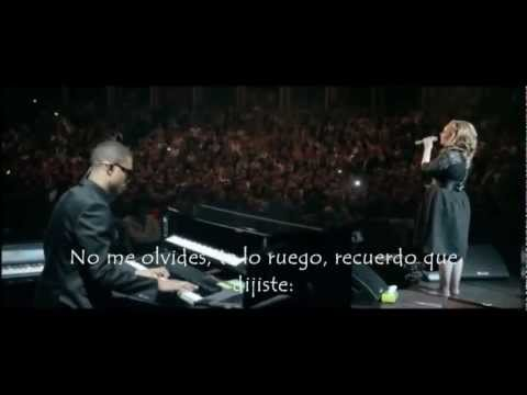 Adele Somee Like You   Subtitulada Español