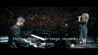 adele someone like you live subtitulada español