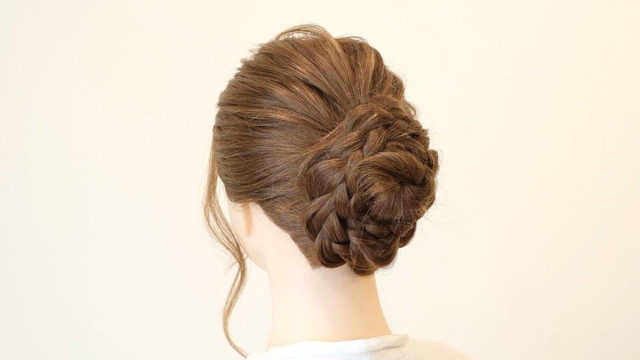 雨の日にもおススメ!三つ編みだけで出来る簡単アップスタイル/hair works &SOL