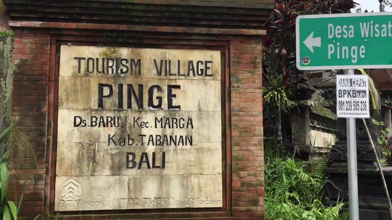 Wow Awesome Village In Bali Pinge Clean Beautiful