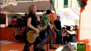 Video Avril Lavigne - Dont Tell Me @ Live at TRL Italy Napoli 26/05/2004 download MP3, 3GP, MP4, WEBM, AVI, FLV Juni 2018