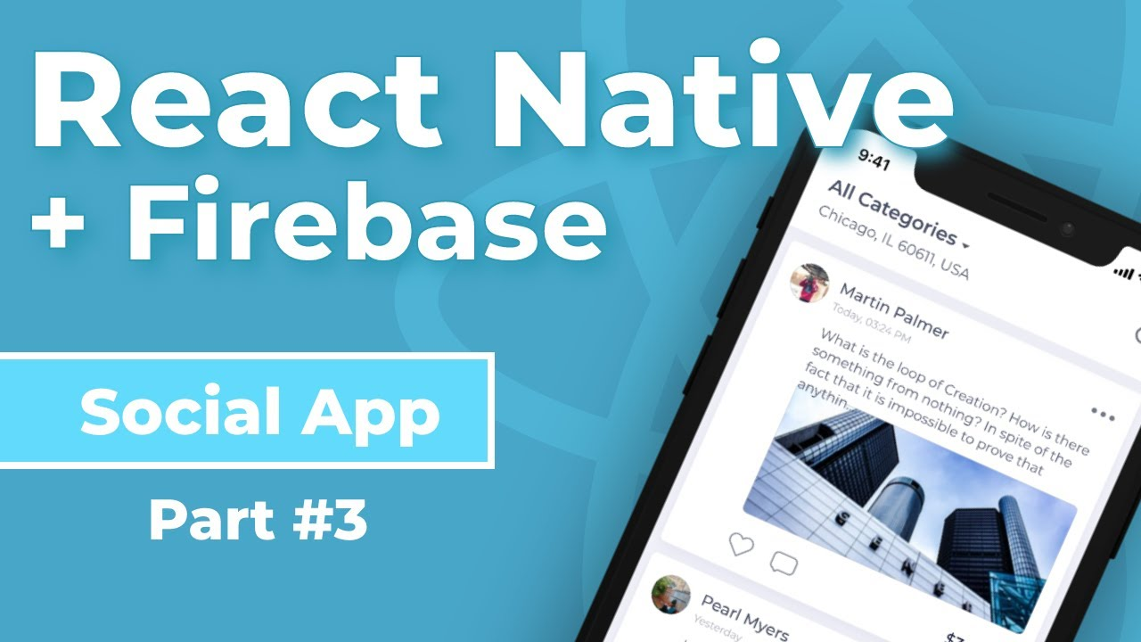 Upload Photos and Posts with Cloud Firestore + React Native - Social App Part #3