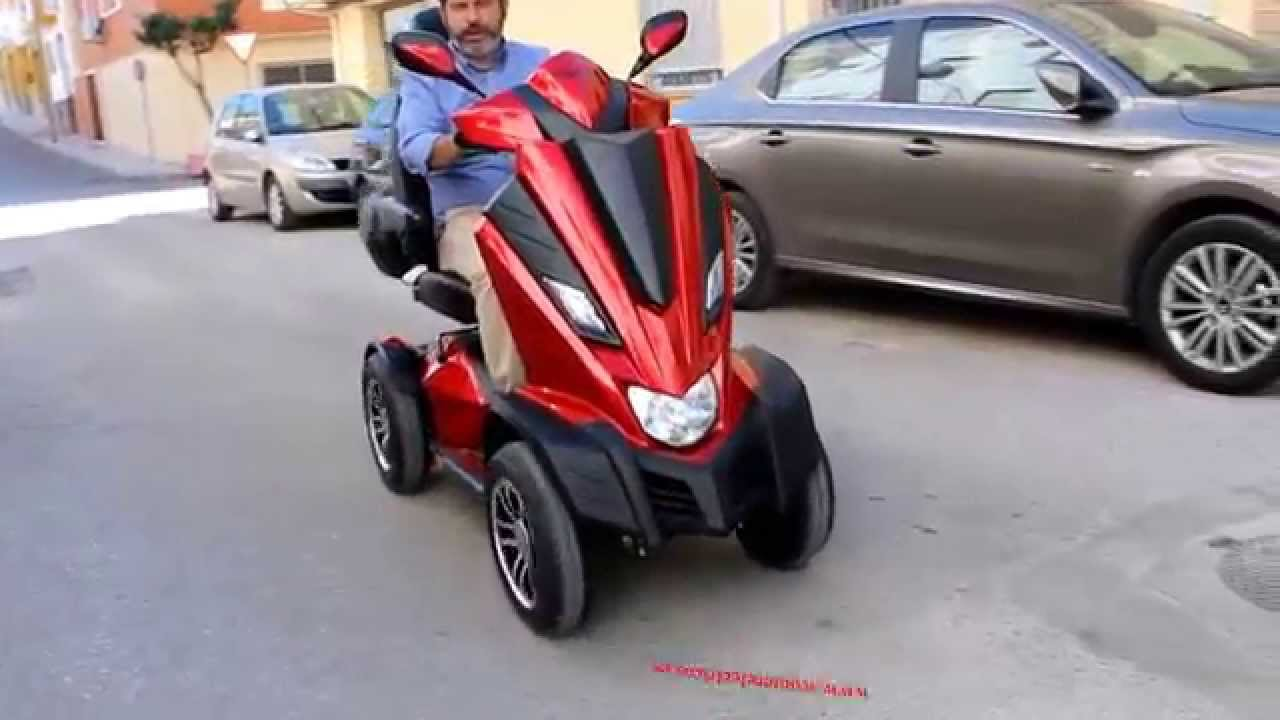 SCOOTER ELECTRICO KING COBRA | FunnyCat TV