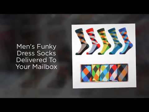 Mens Sock Subscription Box By Mail Sox In A Box