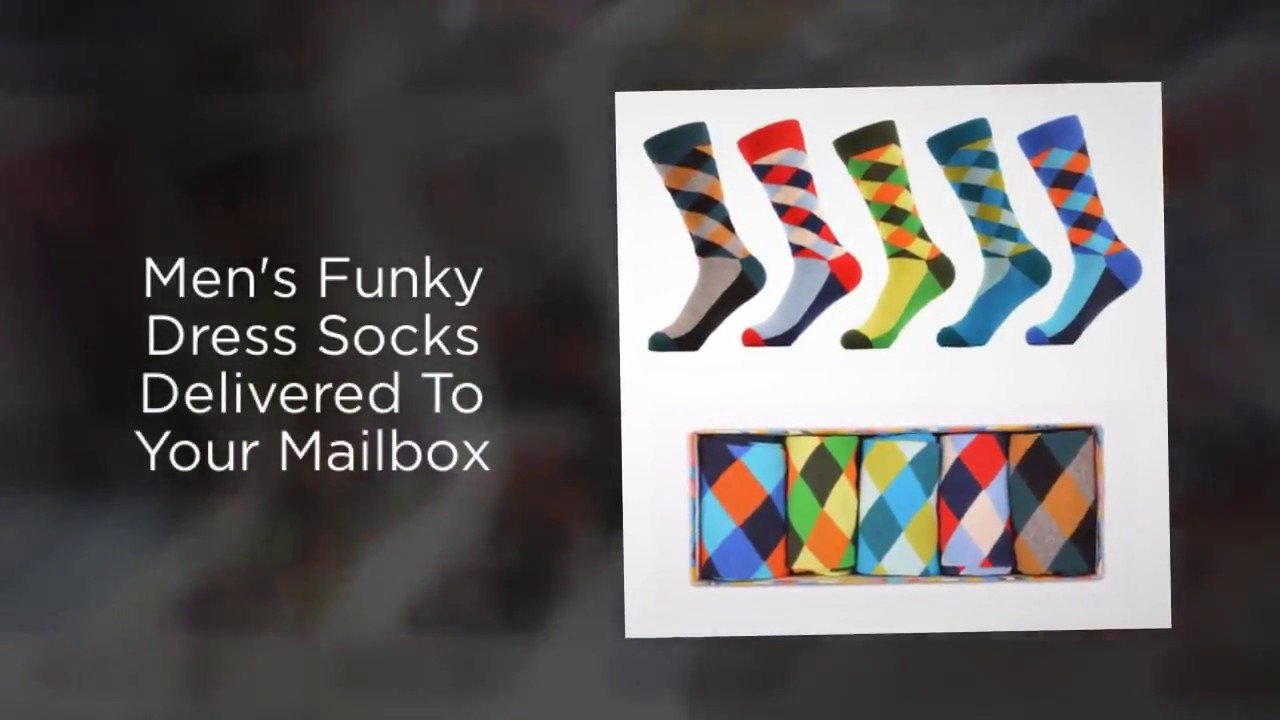 mens sock subscription box by mail sox in a box youtube