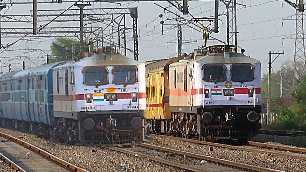 ICF Superfast Trains - Indian Railways