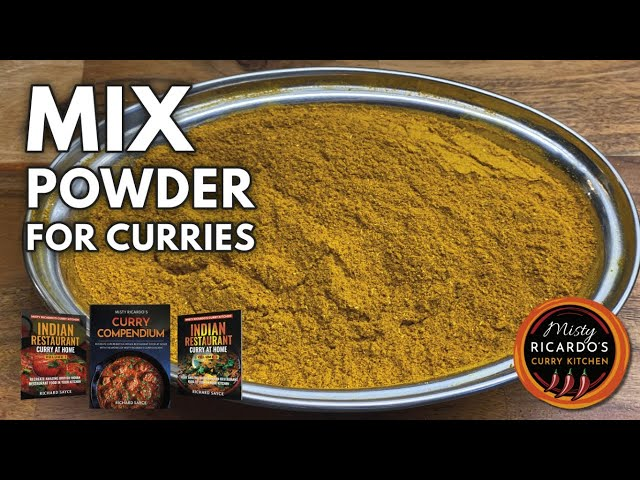 How to make Mix Powder for Indian Restaurant/Takeaway Curries