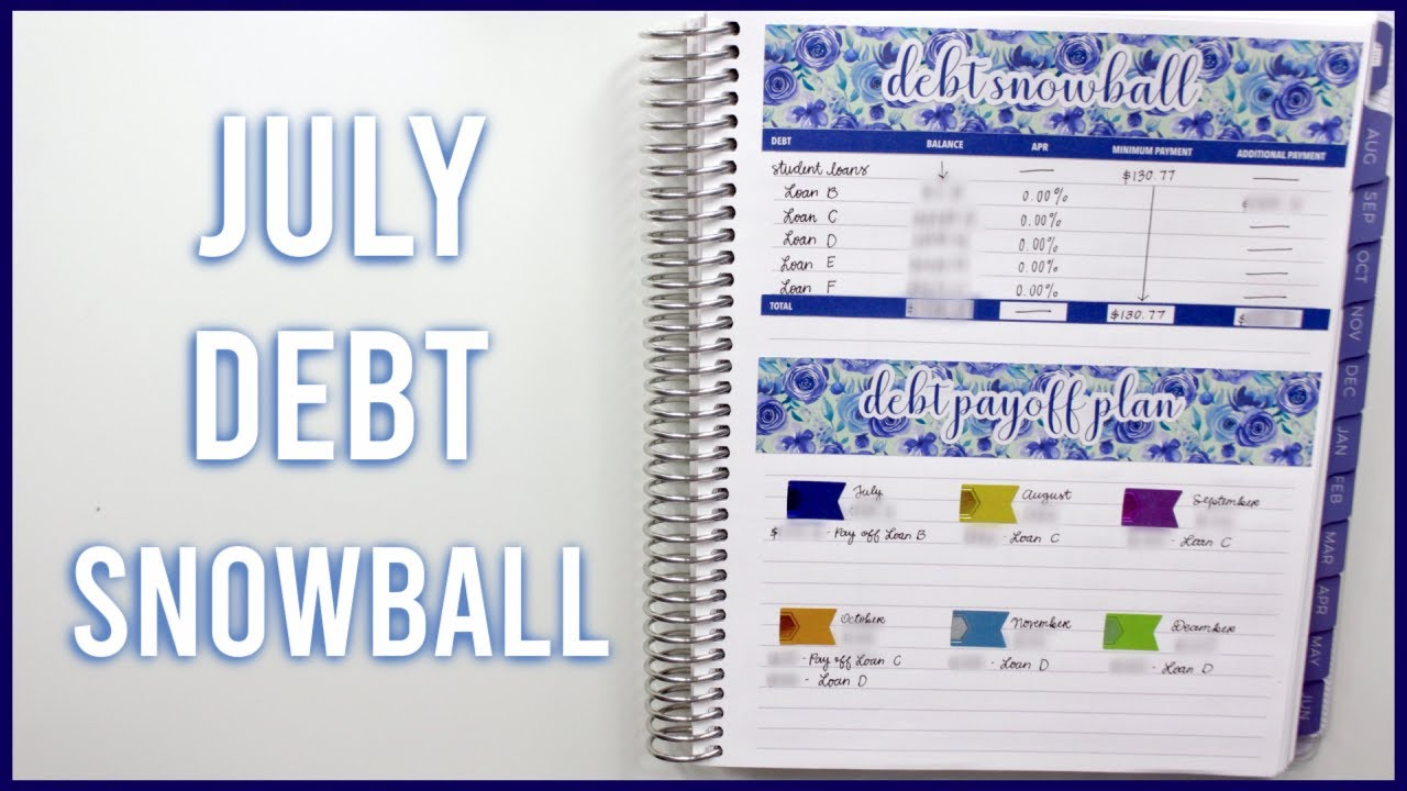 PAID OFF ANOTHER STUDENT LOAN! | July 2020 Debt Snowball & Updated Debt Pay Off Plan