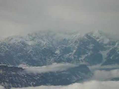 Flight to Glacier on Mt. McKinley