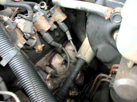 02 Silverado 5 3 Exhaust Manifold Leak Youtube