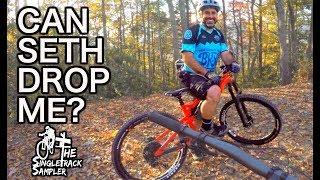 Can I keep up? Seth's Bike Hacks at Kitsuma Peak Trail, Asheville