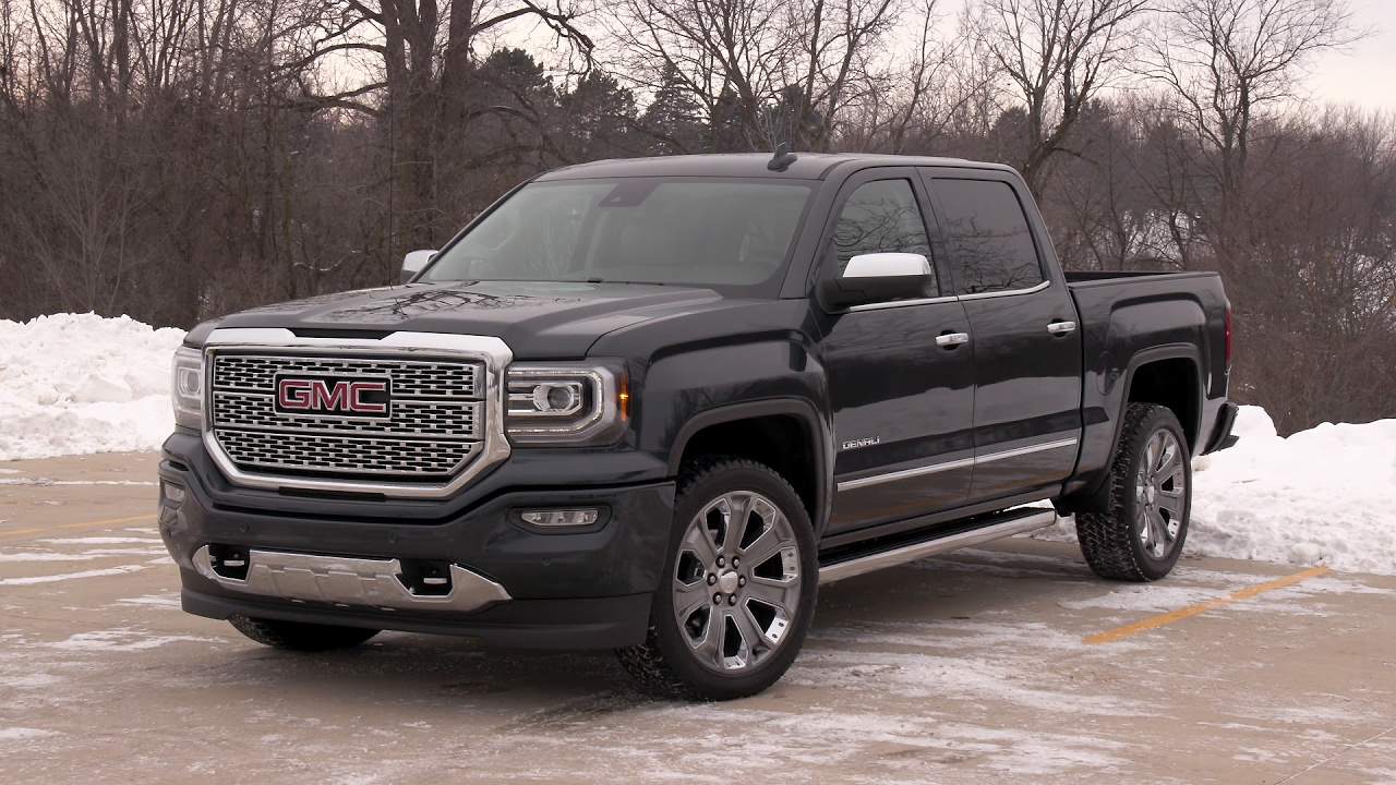 2017 gmc sierra denali 1500 youtube. Black Bedroom Furniture Sets. Home Design Ideas