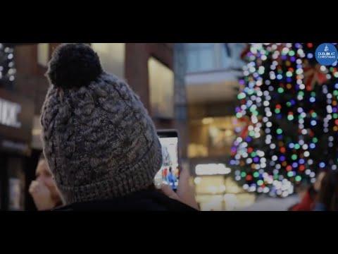 Camera centre Dublin Town Christmas Charitree 2018