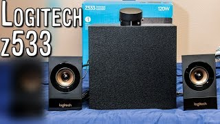 Logitech Z533 - Review and super COOL speaker hack