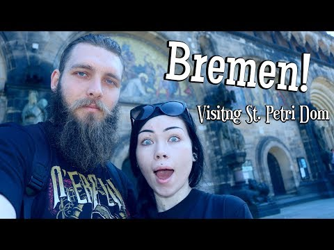 BREMEN + ST. PETRI DOM...The Most Beautiful Place I Have Ever Seen! || Travel Vlog