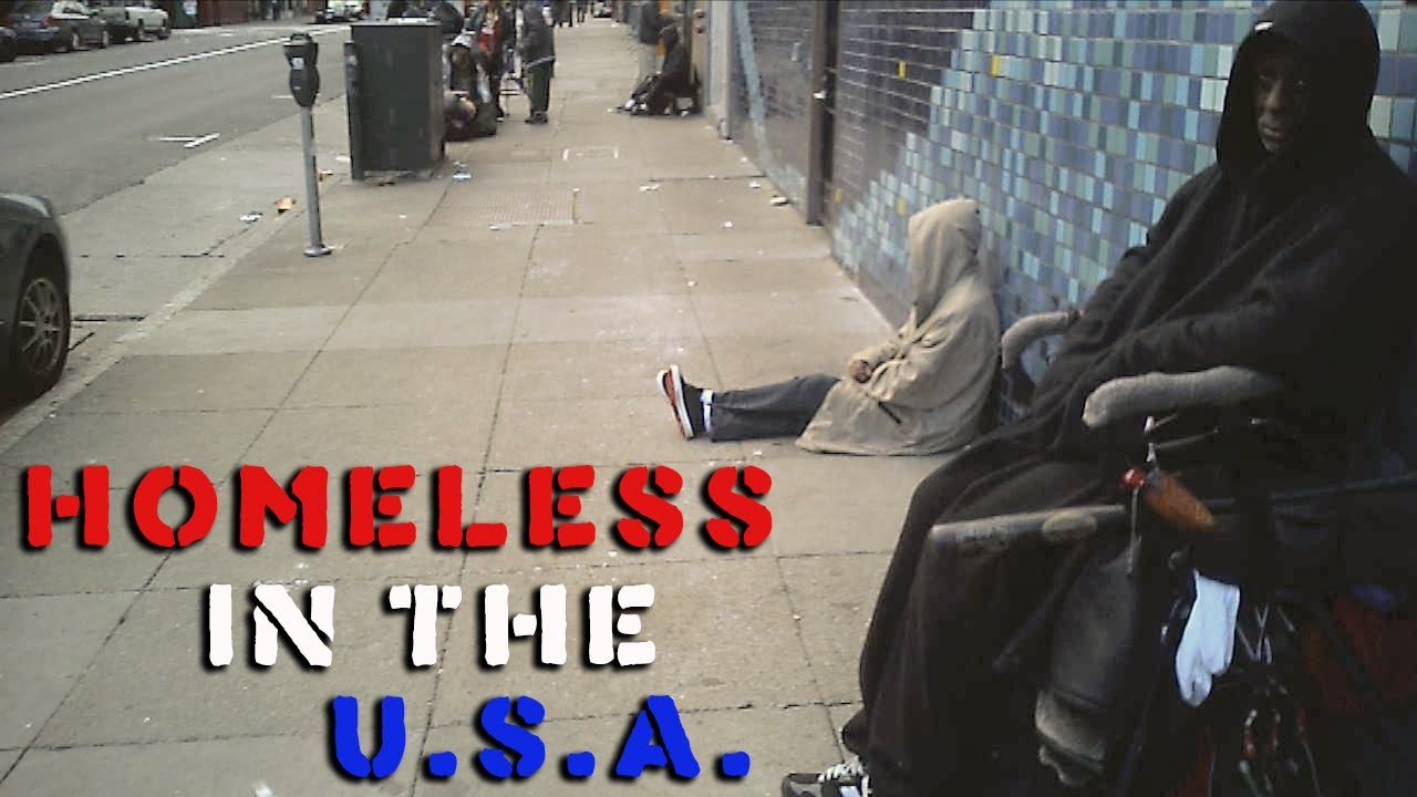 Homelessness In The Usa San Francisco Tenderloin Youtube