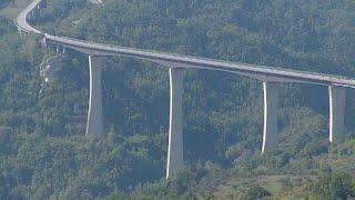 Italien: Höchste Brücke gesperrt