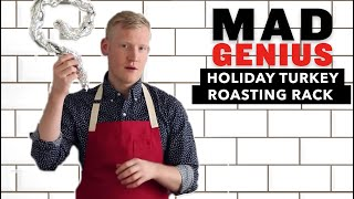How To Make a Roasting Rack For Your Holiday Turkey | Mad Genius Tips | Food & Wine