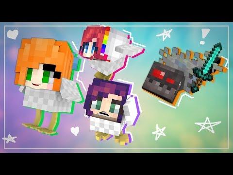 """RUN CHICKENS! | Minecraft: Hide and Seek | w/Graser, BBPaws and Phoenix"