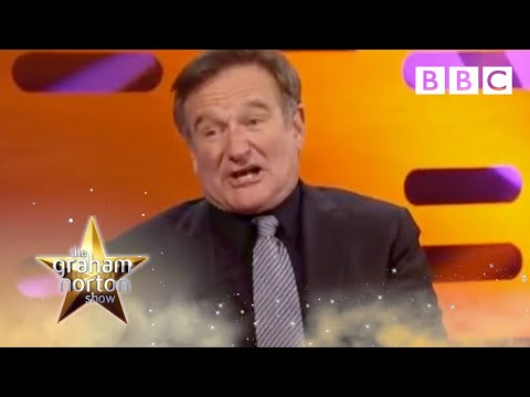 Robin Williams on The Graham Norton Show - BBC Two