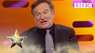 Robin Williams reacts to fans impressions | The Graham Norton Show - BBC