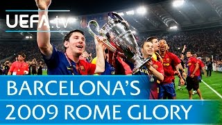 Download Video Barcelona v Manchester United: 2009 UEFA Champions League final highlights MP3 3GP MP4