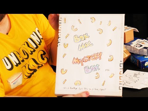 UnBoxing Mac 21: Graduation Invitation, Mystery Box, And Larry The Cable Guy