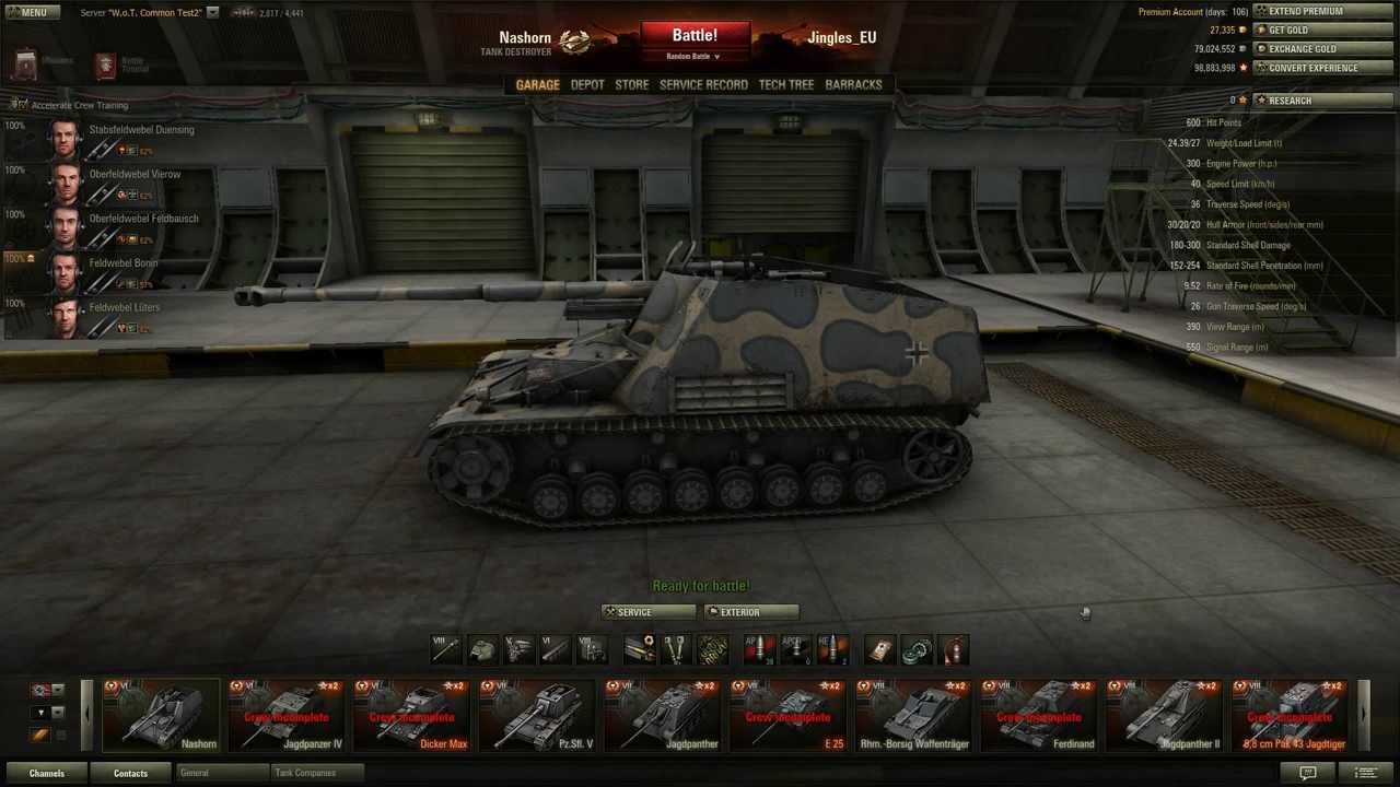 how to change world of tanks server