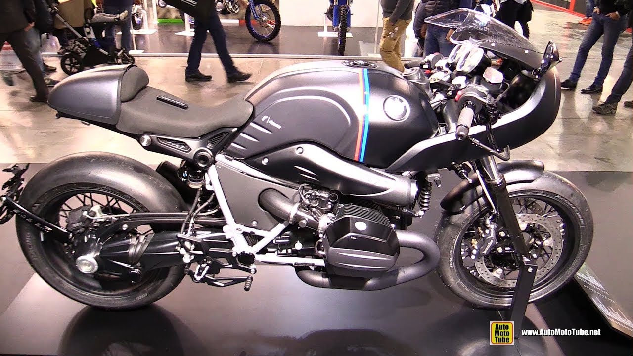 2018 bmw r nine t racer by rizoma walkaround 2017 eicma milan youtube. Black Bedroom Furniture Sets. Home Design Ideas