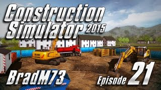Construction Simulator 2015 - Episode 21 - A Front Loader and a Soccer Field!