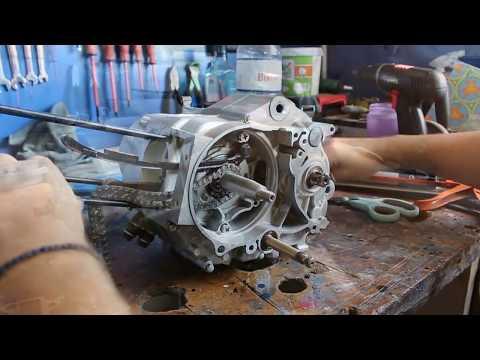 ΚΟΜΜΕΝΟΣ ΣΤΡΟΦΑΛΟΣ ΣΕ YX150 RACING ENGINE + ΕΠΙΣΚΕΥΗ PART 2 #Patentman