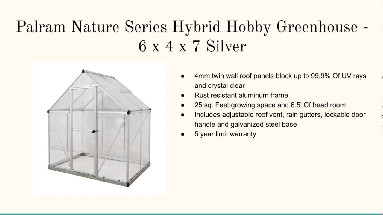 Attached Greenhouse Kits - YouTube