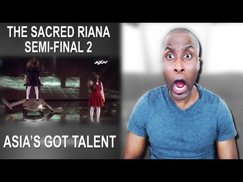 The Sacred Riana Semi-Final 2 – VOTING CLOSED | Asia's Got Talent 2017  Reaction thumbnail