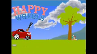 Le robo el coche al ladron-Happy Wheels #06