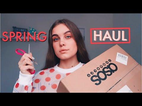 Haul 2020 с примеркой: весенняя одежда с ASOS