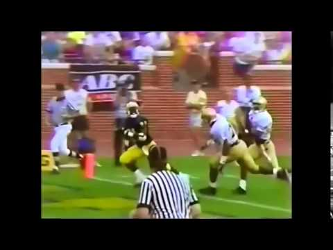 "Notre Dame vs Michigan 1991 Desmond Howard ""The Catch"""