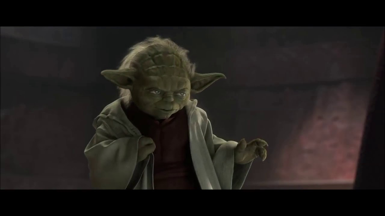 Yoda Vs Dooku But It's Text To Speech