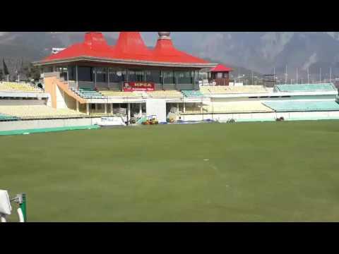 Dharamshala Cricket Stadium| HPCAS | STADIUM IN MOUNTAINS | HP | BEAUTY | CRICKET | VIDEO