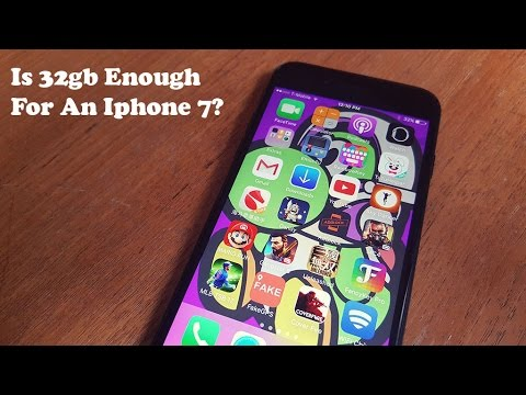 Is 32gb Enough For Iphone 7?  Fliptronikscom