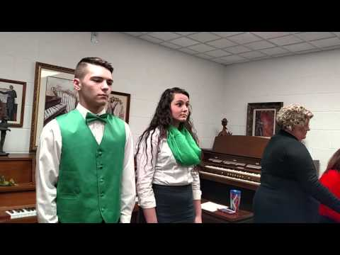 Before the Throne of God Above - Elk Valley Christian School Duet