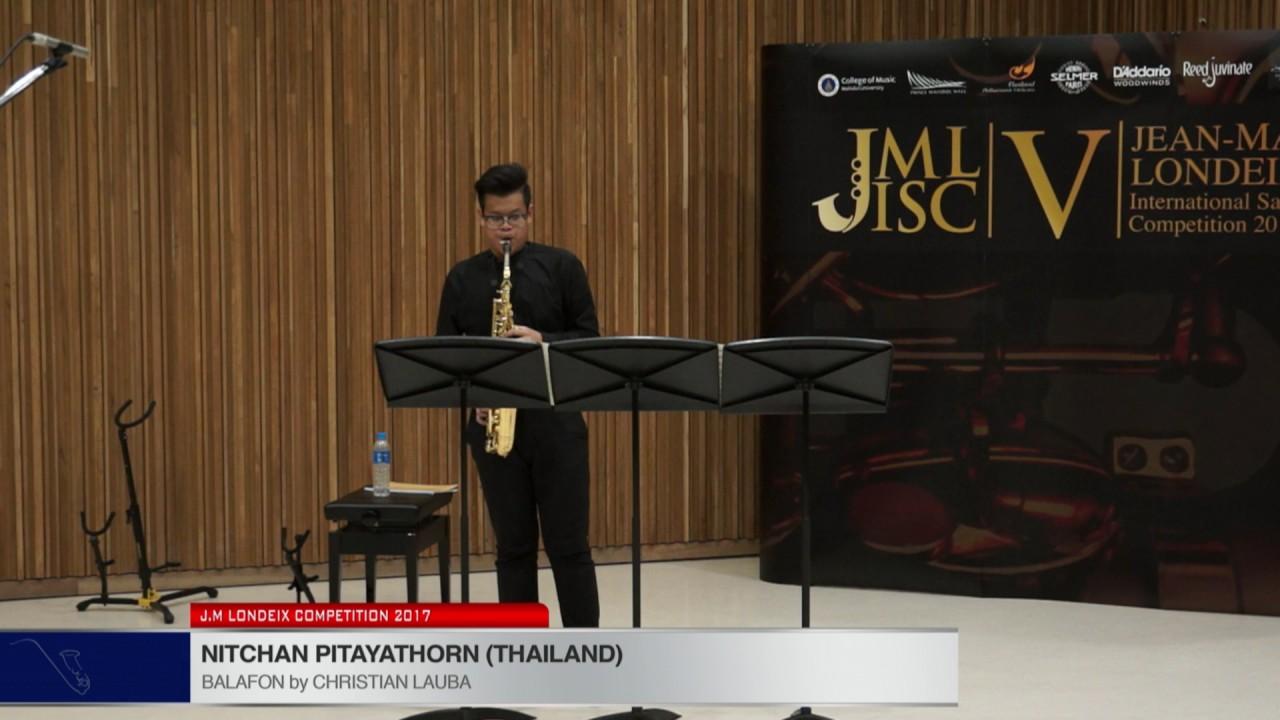 Londeix 2017 - Nitchan Pitayathorn (Thailand) - Balafon by Christian Lauba