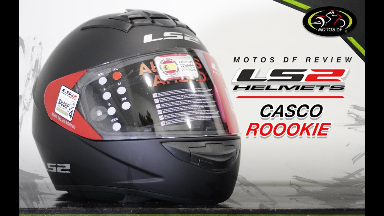 Casco LS2 Rookie - Motos DF - YouTube d1a24167459